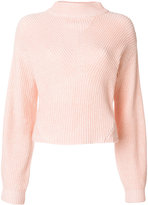 CK Calvin Klein ribbed knit jumper