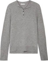 Rag & Bone Charley marled wool and cashmere-blend top