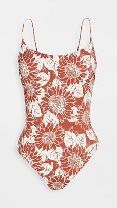 Madewell Spaghetti Strap One Piece Swimsuit