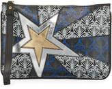 Liberty London Stars Iphis Zip-Top Wristlet Bag