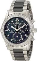 Mother of Pearl Swiss Precimax Women's SP12076 Desire Elite Ceramic Diamond Mother-Of-Pearl Dial Watch