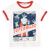 Little Marc Jacobs Infant's Superman Ringer Tee