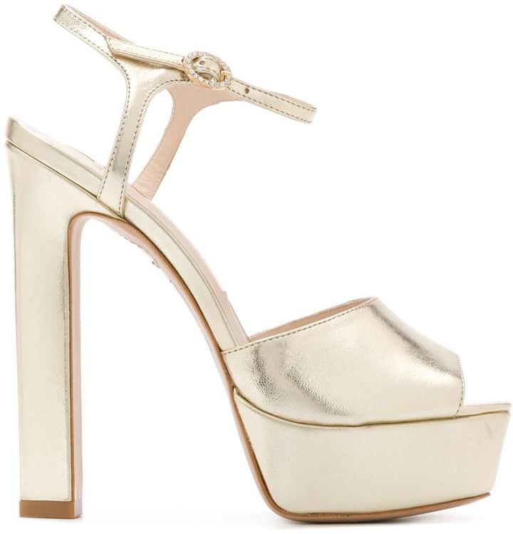 Sophia Webster Peep Toe Platform Sandals