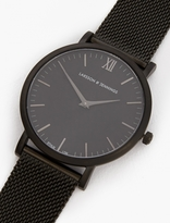 Larsson & Jennings Black Lugano 40mm Watch