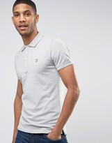 Diesel Polo T-Yahei Slim Fit Jersey in Gray
