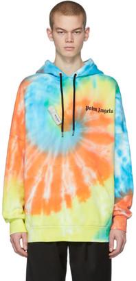 Palm Angels Multicolor Tie-Dye New Basic Hoodie