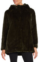Vince Camuto Faux Fur Hooded Jacket