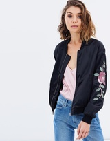 Brady Embroidered Bomber