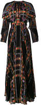 Etro Pleated Maxi Dress