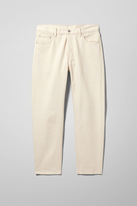 Weekday Barrel Relaxed Tapered Jeans - Beige