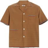 Bode BODE Cotton and Linen-Blend Shirt