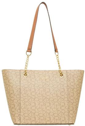 Calvin Klein H8AAJ8DS_TX1 Hudson Double Handle Tote Bag
