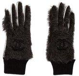 Chanel Fantasy Fur Gloves