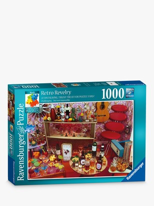 Ravensburger Retro Revelry Jigsaw Puzzle, 1000 Pieces