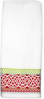 "Dena Mistletoe Medallion 16"" x 28"" Hand Towel"