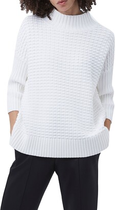 French Connection Mozart Popcorn Cotton Sweater
