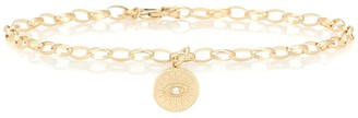 Sydney Evan 14kt Yellow Gold Chain Bracelet With White Diamond