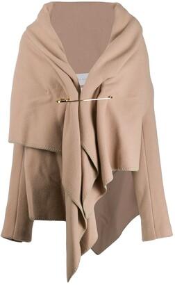 Fumito Ganryu Draped Short Coat