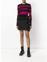 Proenza Schouler CREWNECK ULTRAFINE STRIPED JUMPER