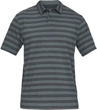 Under Armour Charged Cotton Scramble Stripe Polo Shirt - Men's