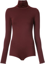 Victoria Beckham roll neck playsuit
