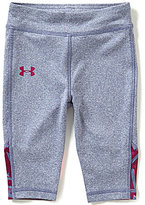 Under Armour Baby Girls 12-24 Months Cross Check Knit Jersey Capri Pants