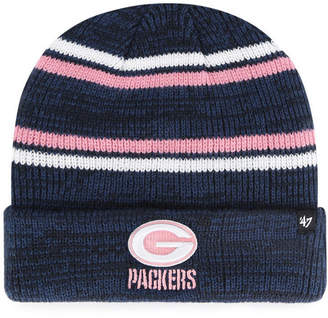 '47 Green Bay Packers Marled Stripe Cuff Knit Hat