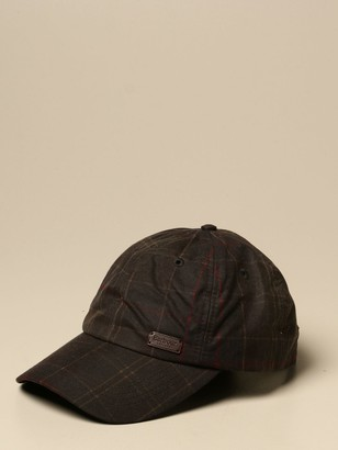 Barbour Baseball Cap With Logo