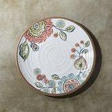 "Crate & Barrel Caprice 10.5"" Botanical Melamine Dinner Plate"