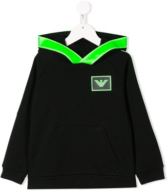Emporio Armani Kids Hooded Sweatshirt