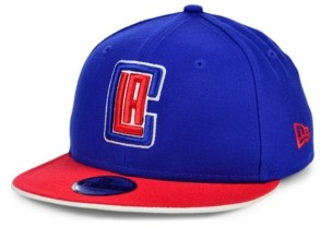 New Era Los Angeles Clippers Youth Team Color Flip Snapback Cap