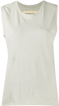 Raquel Allegra Cap Sleeve Tank Top