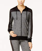 Material Girl Active Juniors' Colorblocked Hoodie, Only at Macy's