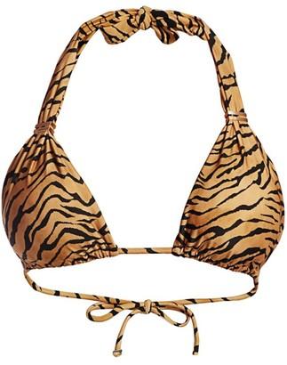 ViX by Paula Hermanny Tiger Bia Tube Bikini Top