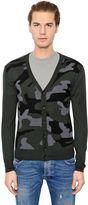Hydrogen Wool & Cashmere Cardigan Sweater