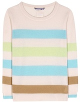 81 Hours 81hours Carena Striped Cashmere Sweater