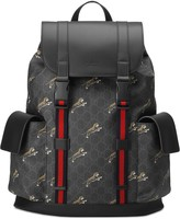 Gucci Bestiary backpack with tigers