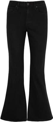 Slvrlake SLVRLAKE Crystal Black Kick-flare Jeans