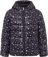 Benetton Girls Star Print Foil Hooded Jacket