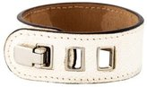 Valextra Grained Leather Bangle