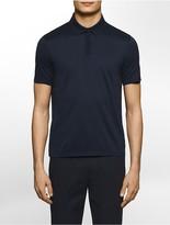 Calvin Klein Platinum Slim Fit Pima Cotton Fine Jersey Polo