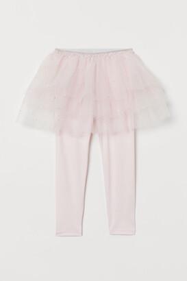 H&M Ballerina leggings and skirt