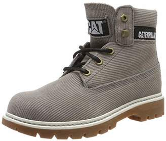 CAT Footwear Women's Lyric Corduroy Ankle Boots, (Wet Weather Grey), 6 (39 EU)