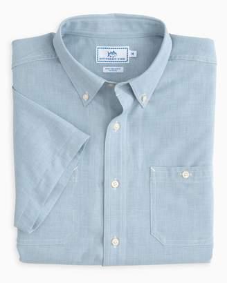 Southern Tide Short Sleeve Performance Dock Shirt