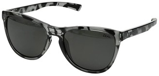 Zeal Optics Bennett (Slate Tortoise/Polarized Dark Grey Lens) Athletic Performance Sport Sunglasses