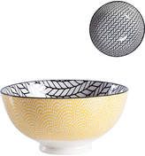 Torre & Tagus Kiri Rope Porcelain Medium Bowls (Set of 6)