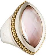 Lagos Caviar Doublet Ring