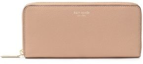 Kate Spade Margaux Pebbled-leather Continental Wallet