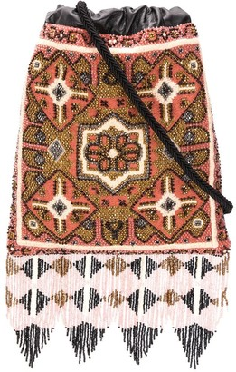 Etro Beaded-Fringe Cross Body Bag