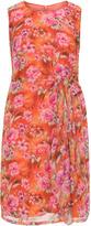 Manon Baptiste Plus Size Floral print draped dress